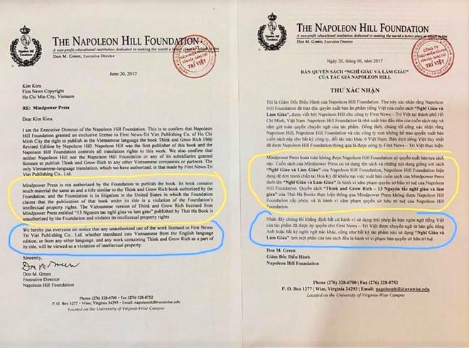 Tranh chấp bản quyền hi hữu giữa 2 đơn vị xuất bản lớn tại Việt Nam