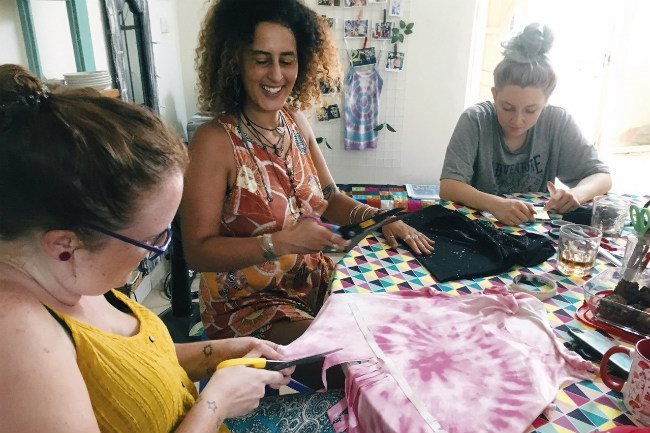 Workshops on upcycling clothes in Hanoi