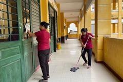 Học sinh THPT của Long An đi học lại từ ngày 2/3