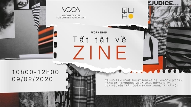 Workshop on zine publication