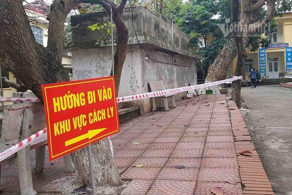 Nam Định cách ly 2 vợ chồng giáo viên từ Sơn Lôi cùng 30 người tiếp xúc