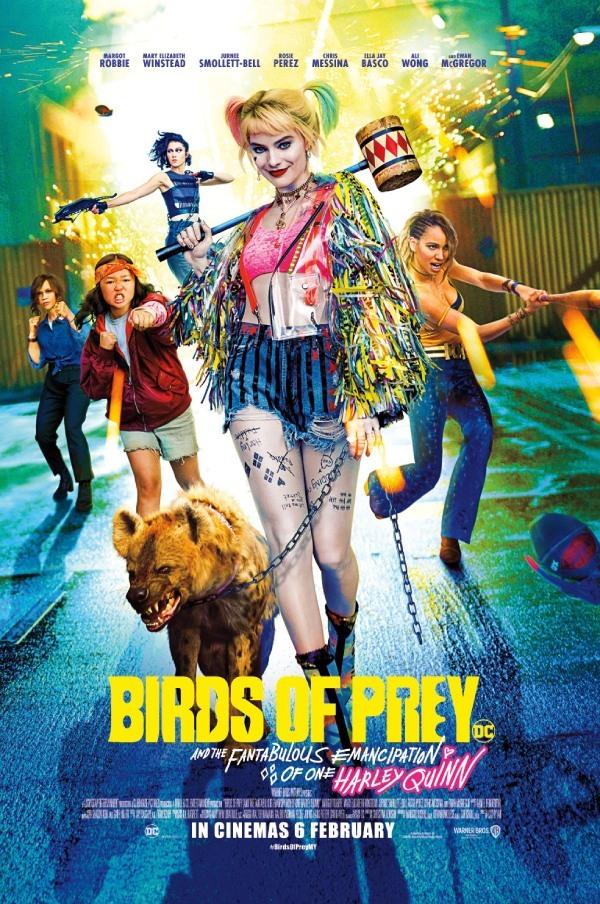 Chết cười xem siêu tội phạm vào vai chính diện trong 'Birds of prey'