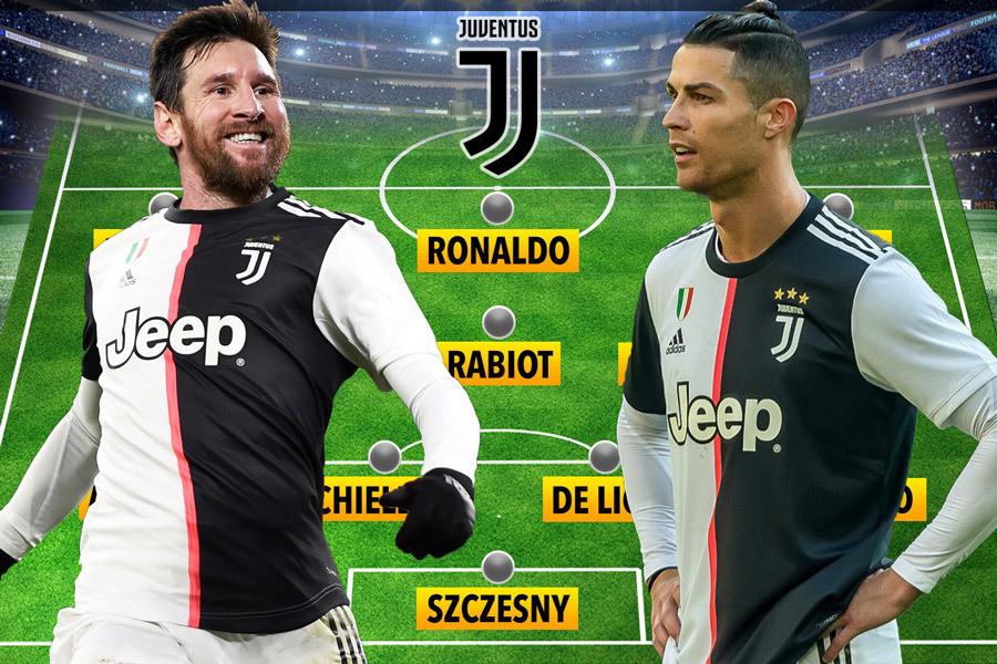 Juventus mơ kéo Messi về đá cặp với Ronaldo