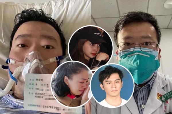Dàn sao tiếc thương bác sĩ Vũ Hán qua đời vì nhiễm corona