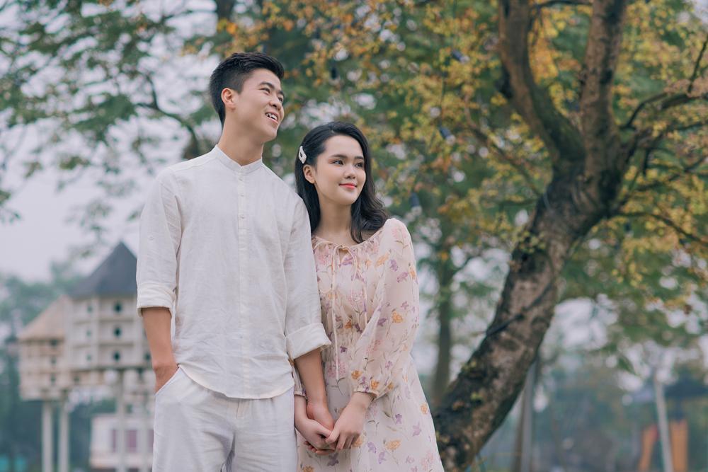 Duy Mạnh, Quỳnh Anh khoe ảnh cưới lãng mạn
