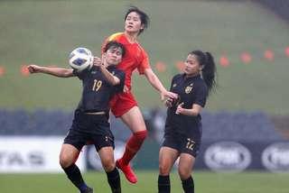Thua đậm nữ Trung Quốc, nữ Thái Lan vỡ mộng Olympic