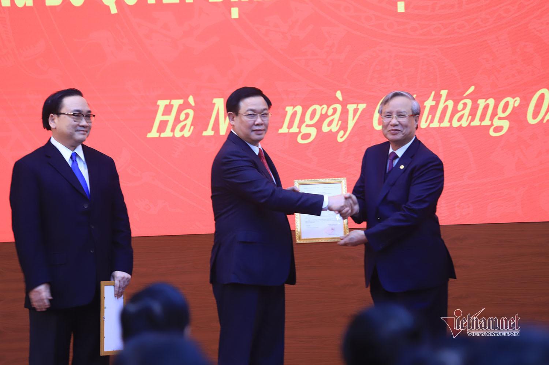 Vương Đình Huệ,Bí thư Hà Nội,nhân sự