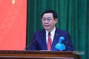 Phát biểu nhậm chức của tân Bí thư Hà Nội Vương Đình Huệ