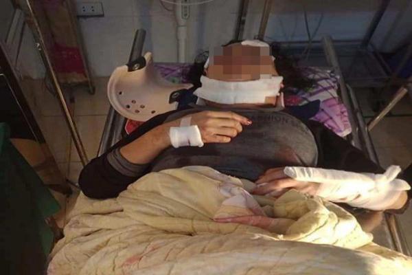 Phát hiện chồng treo cổ sau khi đánh vợ chấn thương sọ não