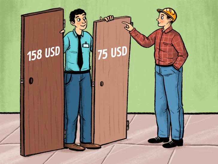 Tại sao cánh cửa nhà vệ sinh công cộng không thiết kế kín?