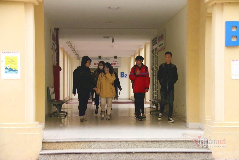 lịch học,sinh viên,virus corona,corona Việt Nam,Trường ĐH Y Hà Nội
