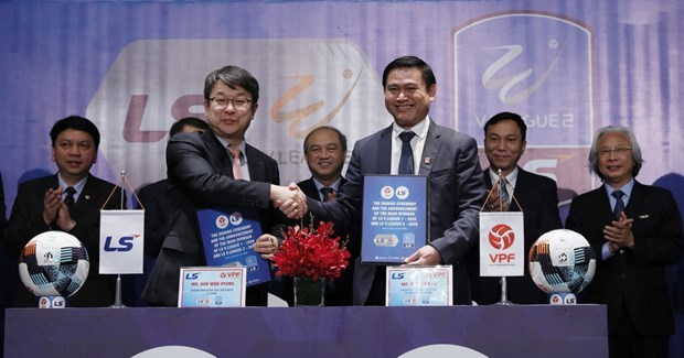 LS Holdings to sponsor V.League 1 and V.League 2 in 2020