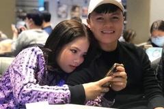 Quang Hải lần đầu xuất hiện trong ảnh với bạn gái tin đồn