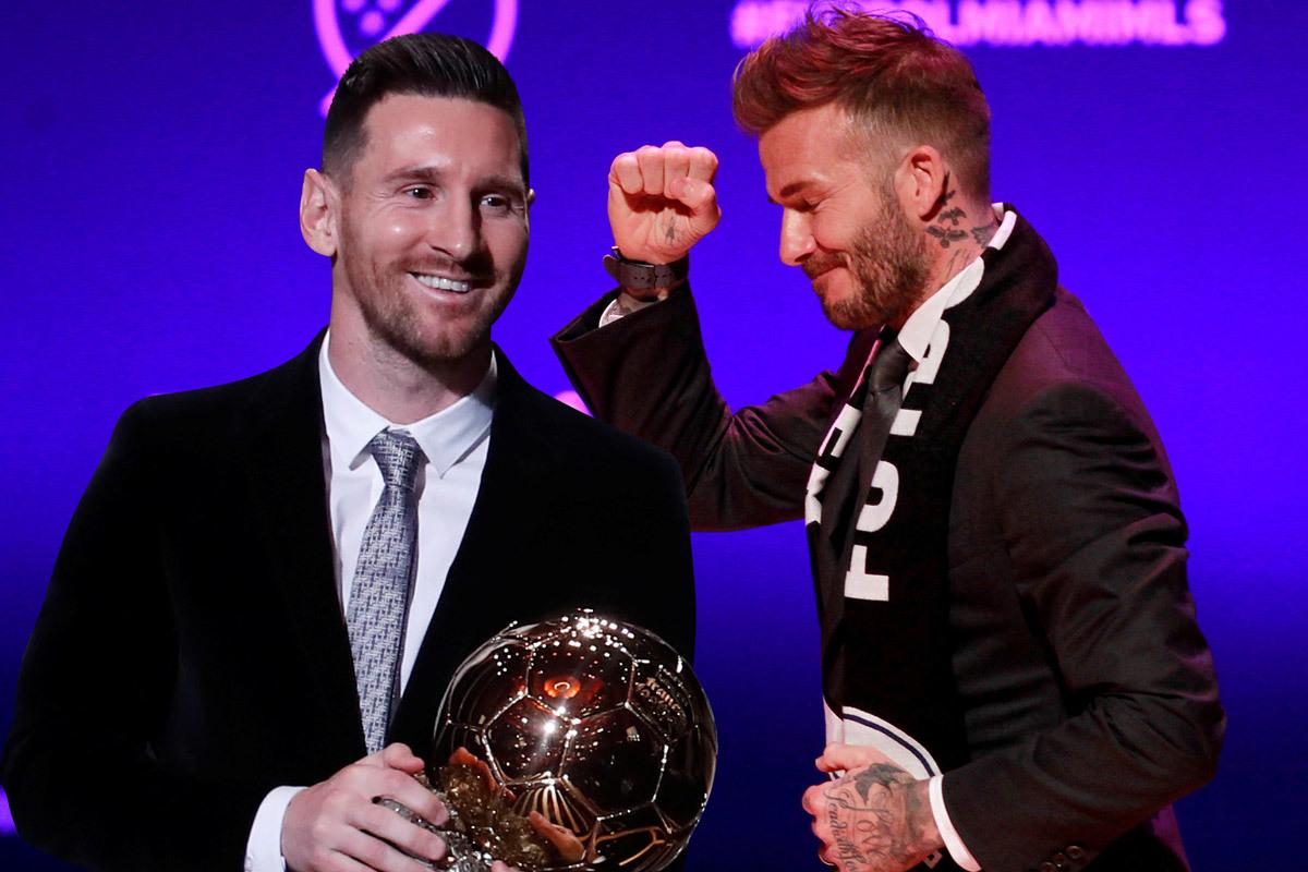 Beckham vung tiền kéo Messi sang Mỹ