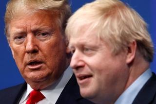 Ông Trump tức giận sau điện đàm với Thủ tướng Anh