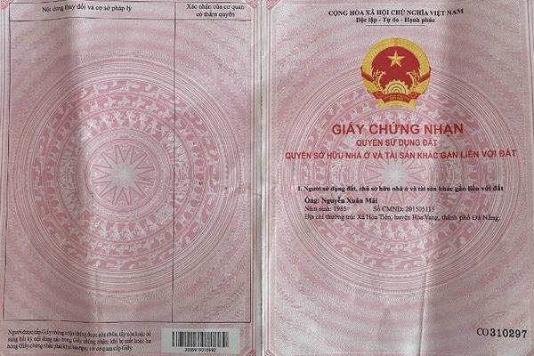 sổ đỏ,Quảng Nam,lừa đảo