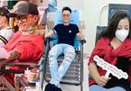 Sao Việt hiến máu giữa lúc kho máu cạn kiệt vì ảnh hưởng dịch corona