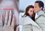 Hồ Ngọc Hà đeo nhẫn kim cương ở ngón áp út