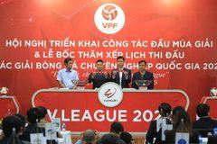 Lịch thi đấu lượt đi LS V-League 1 2020