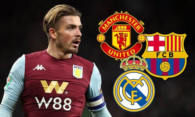 MU,Jack Grealish,Real Madrid,Barca