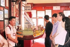Visiting Hoang Sa Flotilla Memorial House in Quang Ngai