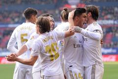 Trút mưa bàn thắng, Real vững ngôi đầu bảng