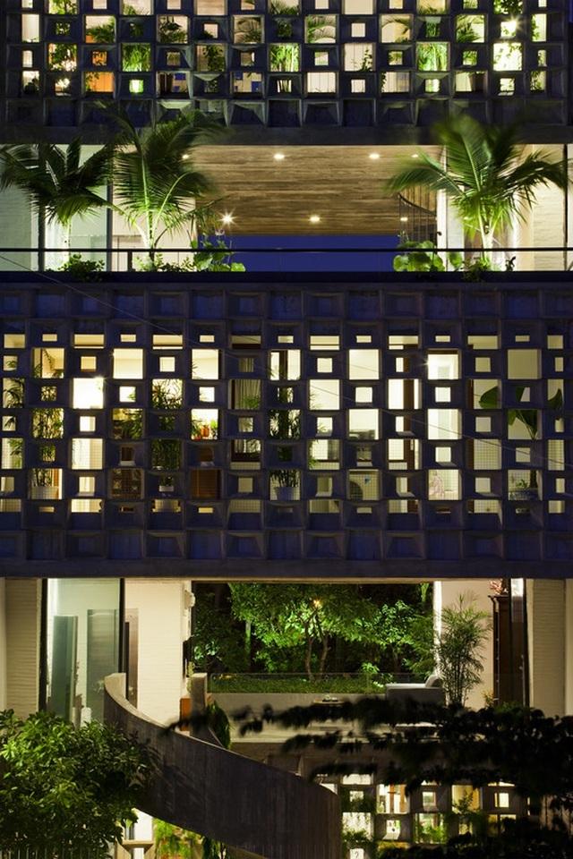 Nhà ở Sài Gòn gây sốt trên báo Tây bởi thiết kế 'nửa kín, nửa hở'