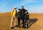 Chuyến đi xa xỉ đầu năm của Hà Kiều Anh cùng chồng đại gia và các con