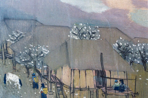 Fine Arts Museum displays works depicting Tet over 70 years