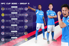 Lịch thi đấu AFC Cup 2020 của Than Quảng Ninh