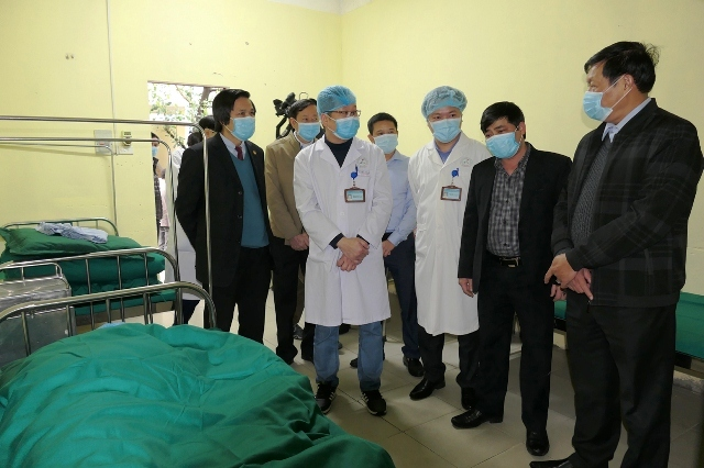 Two foreign nCoV patients progressing well