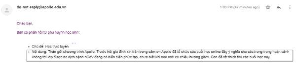 Nền tảng trực tuyến Apollo e-Interact nhân rộng thần tốc chỉ sau 3 ngày