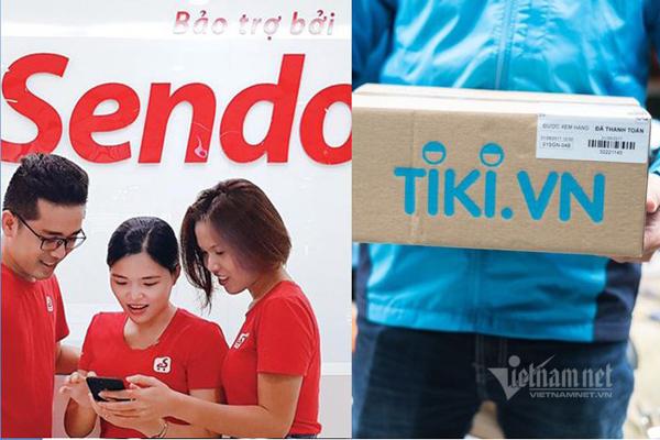Tiki,Sendo,Thương mại điện tử,TMĐT,Kinh tế số,Cách mạng Công nghiệp 4.0
