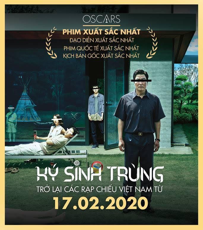 Thắng vang dội tại Oscar 2020, 'Ký sinh trùng' được đưa trở lại rạp Việt lần 2