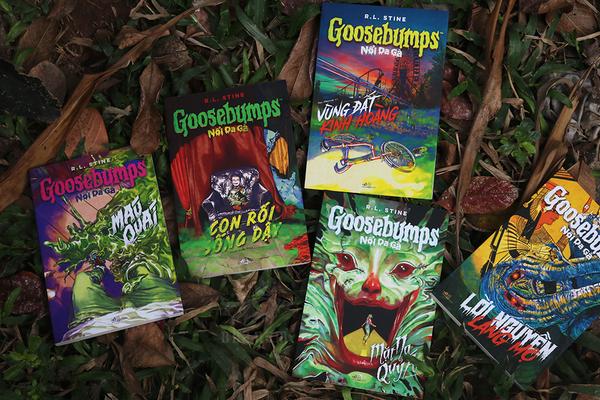 'Nổi da gà' với bộ sách gắn liền tuổi thơ nhiều thế hệ
