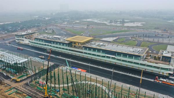 Cận cảnh đại công trường F1 Hà Nội trong giai đoạn nước rút