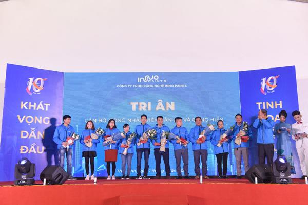 Tập đoàn Sơn Inno Paints: 10 năm khát vọng dẫn đầu