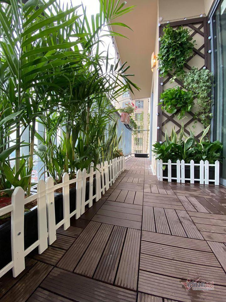 Nhà trang nhã, nhiều hoa của BTV thời sự 19h Minh Trang