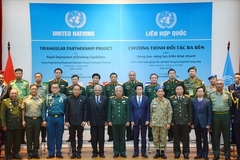Training course for UN peacekeeping engineers opens in Hanoi
