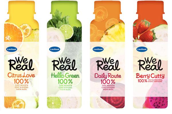 Bí quyết tươi ngon 30 ngày của nước trái cây We Real