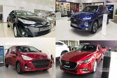 10 xe bán tốt nhất tháng 1: Xe hot Mitsubishi Xpander tụt hạng