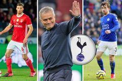"""Mourinho """"thay máu"""" chưa từng có ở Tottenham"""