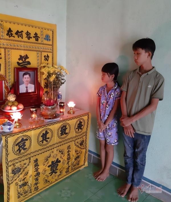 Người đàn ông chết đuối vì cứu người, bỏ lại mẹ già bệnh tật và 2 đứa con thơ