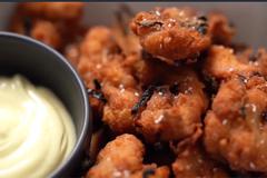 Món gà rán chấm sốt mayonnaise kiểu Nhật