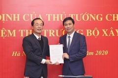 Công bố quyết định của Thủ tướng bổ nhiệm Thứ trưởng Bộ Xây dựng