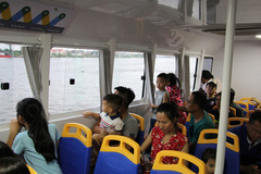 Saigon river bus fails to attract regular commuters
