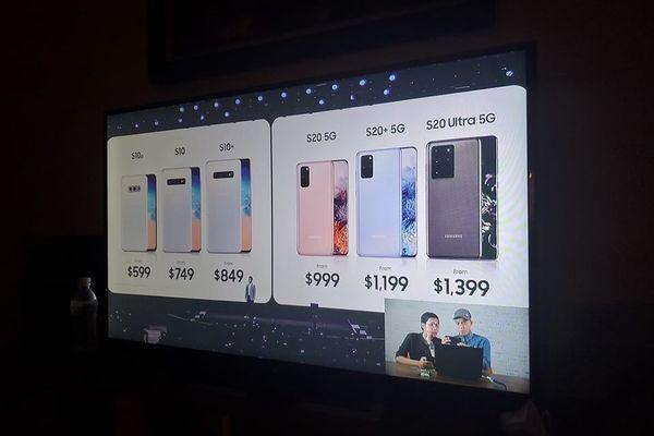 Galaxy S20, Galaxy Z Flip về Việt Nam giá 'khủng' vài chục triệu đồng