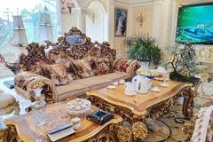 """Cận cảnh ngôi nhà triệu đô, dát vàng 24k của đại gia """"nức tiếng"""" Hải Dương"""