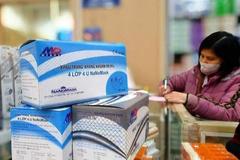 Bán hộp khẩu trang 200.000 đồng, tiệm thuốc ở Hạ Long bị phạt 25 triệu