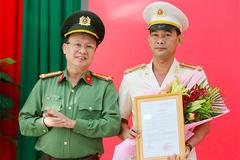 Thượng tá Phạm Thanh Tâm làm Phó giám đốc Công an tỉnh Long An